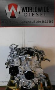 2009 Mitsubishi 4M50-8AT8 Diesel Engine, 185HP. Approx. 223K Miles. All Complete