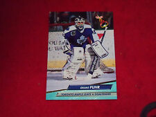 grant fuhr (toronto maple leafs-goalie) 1992/93  fleer ultra card #210 mint cond