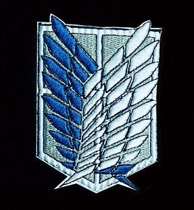 Popular Anime patches Attack on Titan - Logo