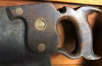 O.G. Tutwell No 30 Split Nut Crosscut Saw
