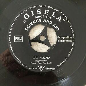 GISELA (JONAS): Der Novak / Die Männer../ Ca fait .. (EP Science and Art / NM)