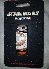 NEW Disney Parks BB-8 Droid Magic Band 2 Star Wars Orange Link It Later