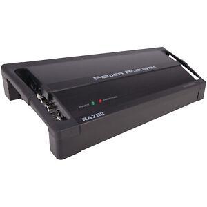 Power Acoustik RZ1-3500D 3,500 Watt Class D Mosfet Monoblock Car Audio Amplifier