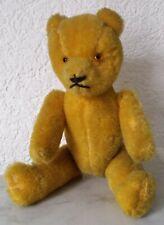 alter kleiner Teddy Teddybär Bär Petz Mohair Glasaugen Glieder beweglich 21,0 cm