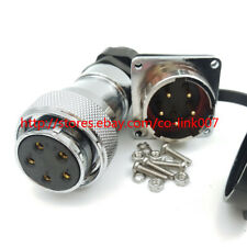WS28 5pin Power Connector,Industrial Bulkhead Aviation Connector Plug Socket