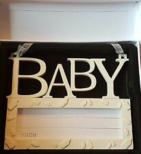 New Baby Wall Plaque - Write Own Personalised Message
