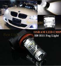 2x H11 H8 CANBUS White OSRAM  LED Fog Light DRL Bulbs  For BMW X3 04+ X5 03+ E53