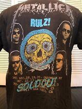 Rare VTG 92 Metallica Bootleg Tour Shirt Sz M/L Slayer Rock Ozzy Metal Priest
