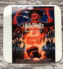 Freddy Krueger A Nightmare on Elm Street 2 Freddy's Revenge Movie Poster Coaster