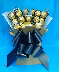 Ferrero Rocher Bouquet Chocolate Gift Box Hamper Birthday Christmas Treat Easter