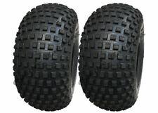 22x11.00-8 Knobby ATV tyre, Quad trailer 22 11 8 tire 4 ply heavy duty, set of 2