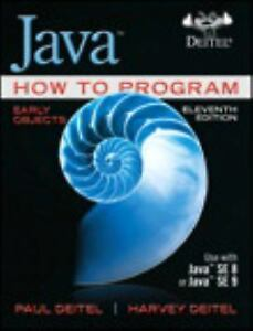 Java How to Program: Early Objects 11th Int'l Edition