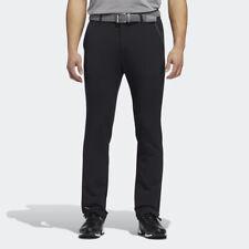 ADIDAS GOLF MEN'S FALL WEIGHT PANTS W34/L30 BLACK WATER REPELLENT FINISH 20547