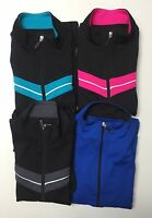 Be Inspired Ladies Zipper Front Long sleeve Active wear Top Jacket S-M-L-XL NWT.