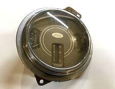1937 1938 1939 Ford Amp Fuel Temp Gauge Cluster Flathead V8 Bezel Glass Hot Rod