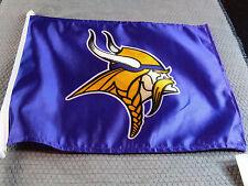 NFL NWT CAR WINDOW FLAG - MINNESOTA VIKINGS