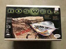 Vintage 1998 Testors 1/48 Roswell Crash Scene Diorama kit Factory Sealed Kit#556