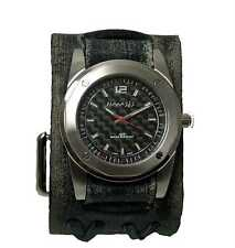 VDX051S Nemesis watch with Black Vintage cuff Band