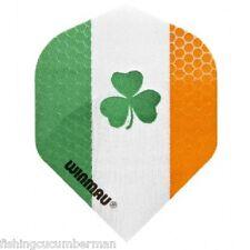 WINMAU IRELAND FLAG WITH CLOVER DART FLIGHTS