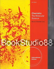 NEW 3 Days to US / CA Chemistry The Molecular Science 4E Moore Jurs 4th Edition