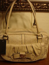NWT GUESS ALLURING SAND SATCHEL HANDBAG 100% AUTHENTIC