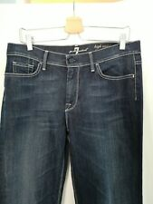 Seven For All Mankind Womens  Bootcut Blue Jeans W32 casual BP23