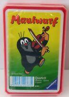 Ravensburger - Maulwurf - Quartett Kartenspiel