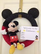 Mickey Mouse Hospital Wreath
