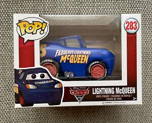 Lightning Mcqueen Blue Funko POP! Vinyl - Disney Cars 3 - Exclusive Rare