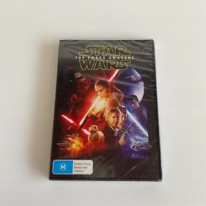 Star Wars The Force Awakens New Sealed DVD