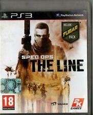 SPEC OPS THE LINE PLAYSTATION 3 PS3 INCLUDE FUBAR PACK EDIZIONE ITALIANA