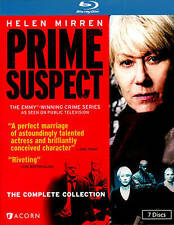 Prime Suspect: The Complete Collection (Blu-ray Disc, 2013, 7-Disc Set)