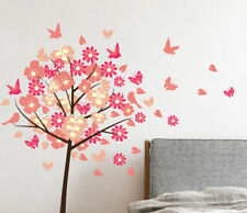 Blossom Tree Butterflies And Birds Wall Sticker Home Quotes Inspirational Love