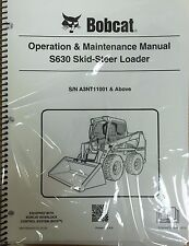 Bobcat S630 Skid Steer Operation & Maintenance Manual Operator/Owners #6987159