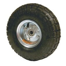 """Replacement 10"""" Rubber Air Filled Wheel Tire for Hand Truck Dolly or Cart"""