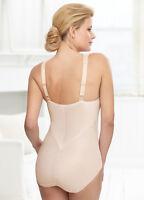 GLAMORISE SHAPER Silky Bodysuit SUPPORT COMFORT Shapewear Bra 36 B/C/DD NEW $60