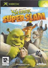 SHREK SUPER SLAM for Xbox - with box & manual - PAL