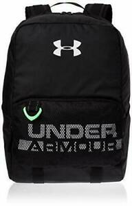 """Under Armour Youth Select Storm Backpack Black White 15"""" LAPTOP BAG One Size $45"""