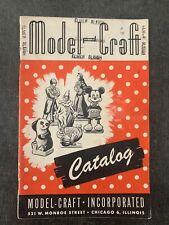 C. 1950's Model Craft Catalog Disney and other models Vintage Antique Toys