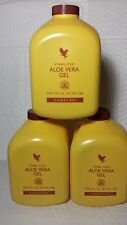 3 ALOE VERA GEL FOREVER (PACK OF 3) 33.8 FL OZ EACH 06/ 2021 NEW NEW NEW