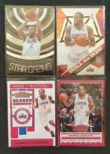 KAWHI LEONARD- LA CLIPPERS.2019-20 4 CARD LOT= CONTENDERS,MOSAIC &OPTIC⭐GAZING🔥