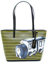 BORSA DONNA Braccialini shopping grande lady b ecopelle TRENINO B10800YY-2468