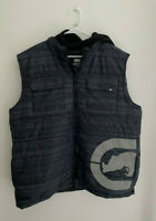 Mens Ecko Unltd Rhino Hooded Puffer Vest sz 2XL New NWT