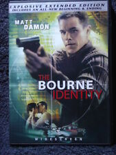 The Bourne Trilogy IDENTITY SUPREMACY ULTIMATUM (DVD 2008, 3-Disc Set) Like New!