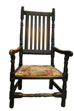 Antique Old English Slat Back Armchair 43″H, Circa 1890's, Pa4533