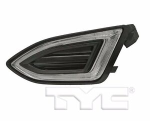 TYC NSF Left Side LED Fog Light Assy for Ford Edge 2015-2016 Models