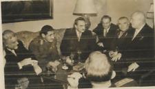 Russia, Moscow, Kremlin  Vintage , Khrushchev, Walinovsky, Mikoyan, Bulganin & A