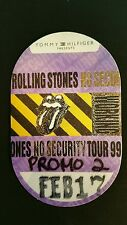 The Rolling Stones Backstage Pass 2/17/1999 Make An Offer!