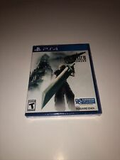 Final Fantasy Vii Remake Sony Playstation 4 Ps4 Game Brand New Factory Sealed!