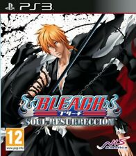 Bleach: soul resurrección Sony PS3 NEW FACTORY SEALED avec Tear Strip Free UK POST